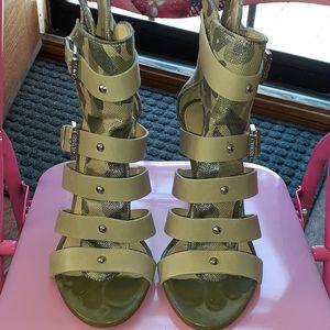 Guess Camo heels